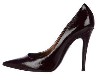 Sergio Rossi Patent Leather High Heel Pumps