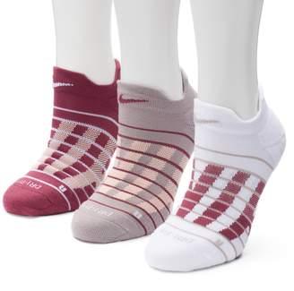 Nike Women's 3-pk. Block Graphic Cushioned No-Show Socks