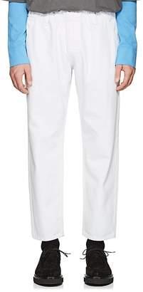 WILLY CHAVARRIA Men's Denim Drawstring Trousers
