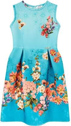 Lesy Floral Neoprene Dress
