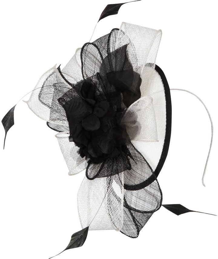 CC floral bow fascinator