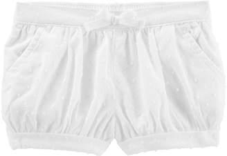Osh Kosh Oshkosh Bgosh Toddler Girl Swiss Dot Bubble Shorts