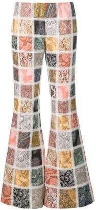 Zimmermann Ninety-Six flared trousers