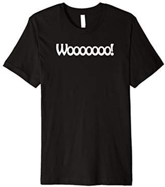 Woooooo Funny Silly Custom T-Shirt for Men and Women