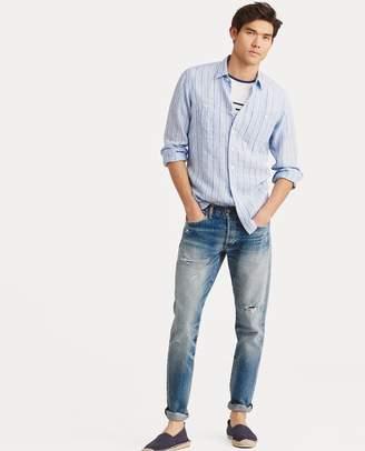 Ralph Lauren Classic Fit Striped Workshirt
