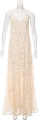 Alexis Crochet Accented Dress