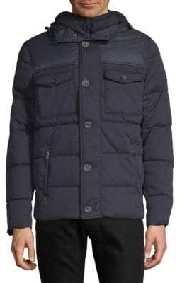 Superdry Quilted Hooded Jacket