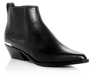 Rag & Bone Women's Westin Leather Western Low-Heel Booties