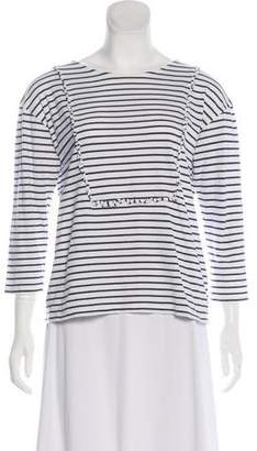 Chinti and Parker Striped Long Sleeve Top