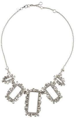 Alexis Bittar Miss Havisham Open Frame Statement Necklace