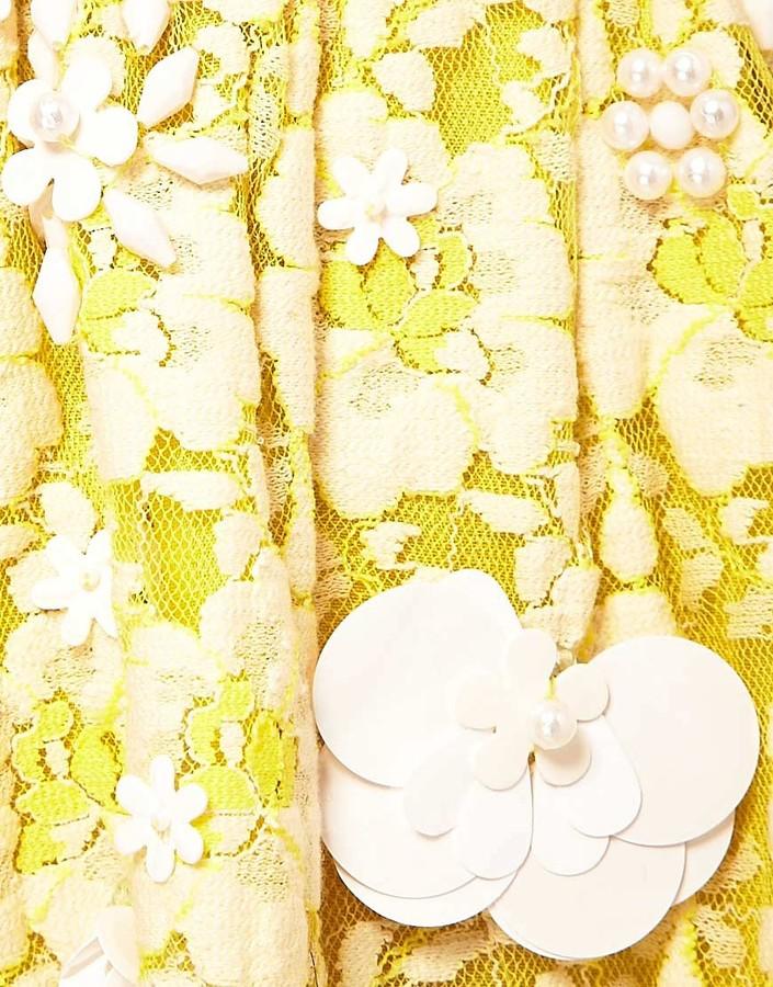 Asos Skater Dress with Embellished Detail