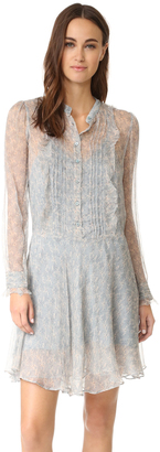 Zadig & Voltaire Romia Printed Dress $398 thestylecure.com