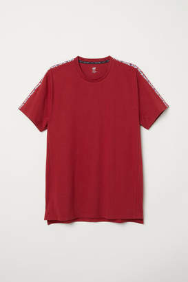 H&M Sporty T-shirt - Red