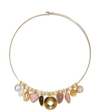 Lizzie Fortunato Best Lady Necklace in Rose