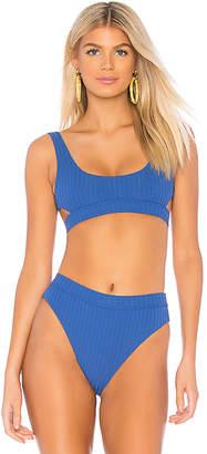Bond Eye Heatwave Rib Crop Bikini Top