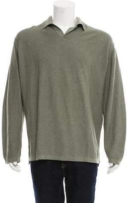 Zegna Sport Button-Up Polo Shirt