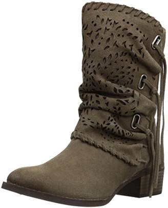 Naughty Monkey Women's Vamp Phyer Ankle Bootie