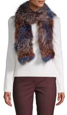 La Fiorentina Fox Fur Scarf
