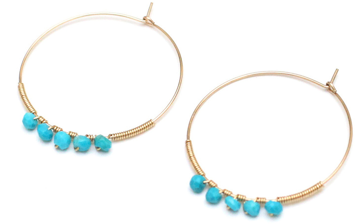 Franciscan Daily San Luna Earrings Turquoise