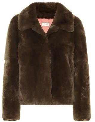 Yves Salomon Meteo Rabbit fur jacket