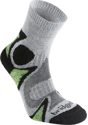 Bridgedale Trail Sport Lightweight T2 Merino Cool Comfort 3/4 Crew Sock - Men's