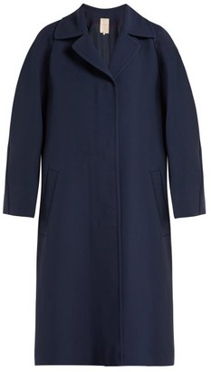 Roksanda Kamri Silk Coat - Womens - Navy