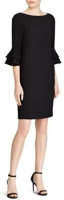 Ralph Lauren Tiered Ruffle Sleeve Dress