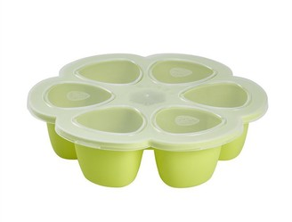 Beaba Multiportions Baby Food Tray 3oz, Neon