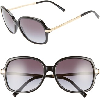 Michael Kors 57mm Gradient Square Sunglasses