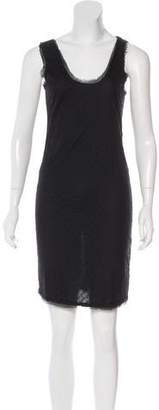 Lanvin Silk-Blend Knee-Length Dress