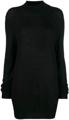 Ann Demeulemeester oversized high-neck sweater