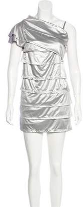 Fendi Tiered Knee-Length Dress
