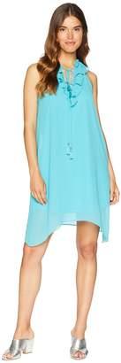 Kensie Botanical Mix Dress KS6K8S00 Women's Dress