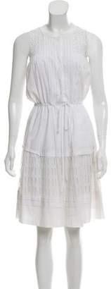 Rebecca Taylor Eyelet Knee-Length Dress