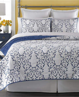 Martha Stewart Collection 100% Cotton Chateau King Quilt