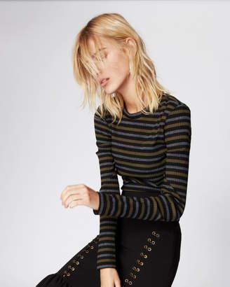 Nicole Miller Vintage Striped Top