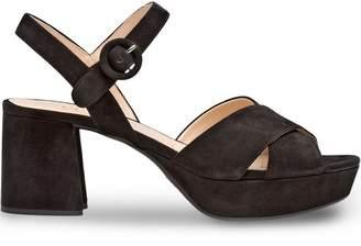 e71ca4b86164 Prada Front Strap Sandals For Women - ShopStyle UK