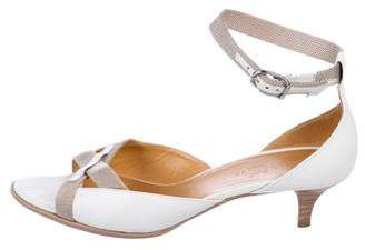 Hermes Ankle Strap Leather Sandals