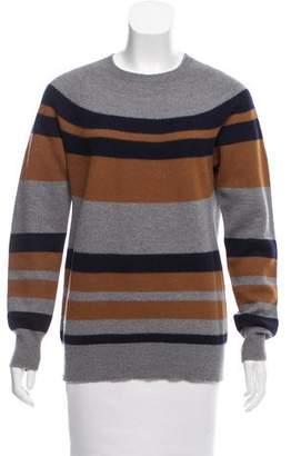 Dries Van Noten Striped Wool Sweater