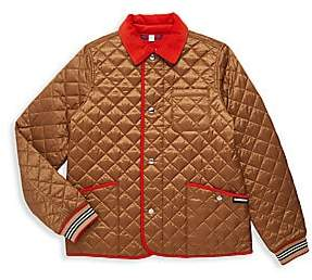 Burberry Little Boy's & Boy's KB6 Culford Quilted Jacket