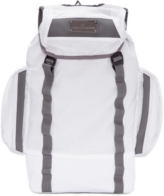 adidas by Stella McCartney White Multi-Pocket Athletic Backpack $170 thestylecure.com