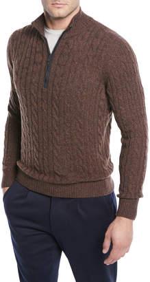 Loro Piana Cashmere Cable-Knit Sweater