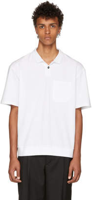 Lanvin White Oversized Polo