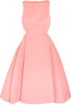 Halston Heritage Cutout faille dress $475 thestylecure.com