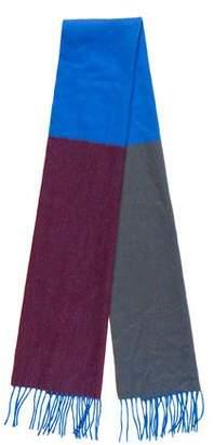 Marc Jacobs Cashmere Colorblock Scarf