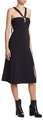 Proenza Schouler Women's Macrame Halterneck Dress - Size 0