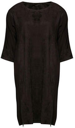 B.young B. YOUNG Faux-Suede Shift Dress