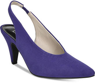 Bar III Tanya Slingback Pointed Toe Pumps