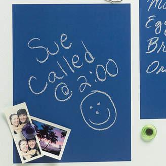 Wallies 4 Sheet Vinyl Peel and Stick Chalkboard Wall Decal