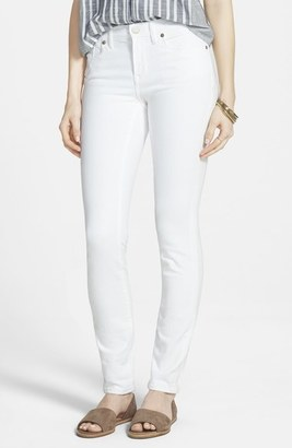 Madewell High Rise Skinny Jeans (Pure White) $125 thestylecure.com